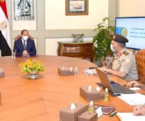 الرئيس السيسي يوجه بتنفيذ محور مروري جديد يربط محور الشهيد بطريق السويس