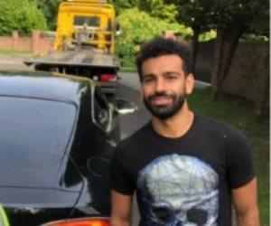 الشرطة تنقذ محمد صلاح بعد تعرض سيارته لحادث في مدينة ليفربول