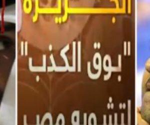 """الجزيرة وقطر والإخوان.. """"قولهم صندوق مصر السيادي بيخافوا منه"""""""