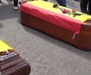 المظاهرات تجتاح إسبانيا.. رجال الشرطة يحتجون ضد رئيس الحكومة بسبب «إيتا»