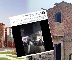 بالدليل.. أهالي المطرية يتهمون المقاول الهارب محمد علي بفبركة فيديو المظاهرات (صور)