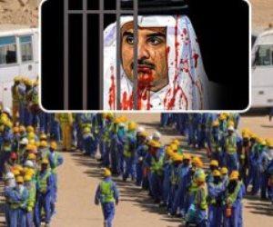 انتهاك حقوق العمال فى قطر مستمر.. قطرى يطلق النار على عامل هندى ولم يحاسبه أحد