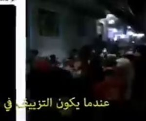 فضيحة جديدة للإخوان.. فبركة فيديو «زفة عروسة» بالعياط وإذاعته كمظاهرة