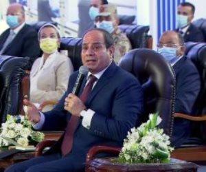 السيسي يكشف عن خطة جديدة لأراضى الدولة لتنفيذ النمو الرأسي وتوفير شقق للمصريين