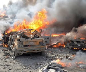 مقتل مفتى دمشق فى انفجار عبوة ناسفة فى بلدة قدسيا بريف العاصمة السورية