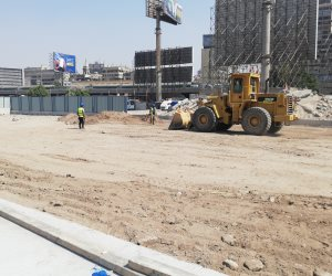 بدء إنشاء 3 أبراج جديدة فى مثلث ماسبيرو بكورنيش القاهرة.. صور