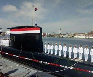 القوات المسلحة تحتفل بتدشين الغواصة الرابعة طراز (209/ 1400)