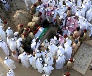 جثمان أمير الكويت إلى مثواه الأخير بمقبرة الصليبيخات