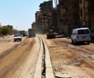 """في 7 نقاط.. تعرف على مشروع تطوير طريق """"خان أسوان"""" بمدخل المدينة الشمالي"""