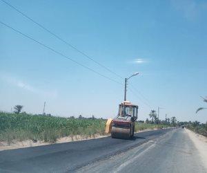 تفاصيل المشروع القومي لرصف الطرق المحلية.. رصف 828 كيلو متر بـ 12 محافظة و5.4 مليار جنيه للمرحلة الثانية