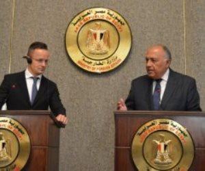وزير الخارجية يوجه رسائل شديدة اللهجة لتركيا: مصر لم ولن تفرط فى نقطة من مياهها الإقليمية والاقتصادية