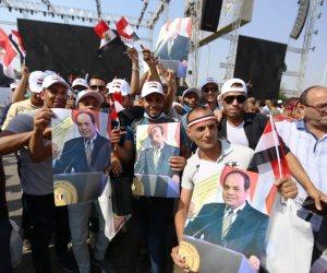 «حلاوة ناسك يا مصر».. الشعب يملأ الميادين في المحافظات احتفالا بذكرى يوم النصر ودعم الدولة والرئيس (فيديو)