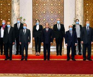 الرئيس السيسي يلتقي شباب القضاة بحضزر وزير العدل..  ويؤكد حرص الدولة على تطوير المنظومة القضائية