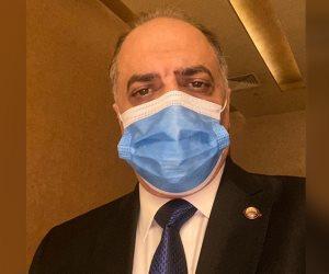 رئيس ائتلاف دعم مصر يشارك في تحدي الكمامة: التهاون مرفوض