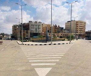 بعد 4 سنوات من الغلق وعودة الاستقرار.. إعادة فتح طريق ميدان الشهداء الساحلي بالعريش (صور)
