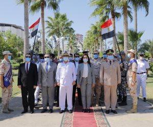 بأكاليل الزهور .. محافظات مصر تحتفل بذكري انتصارات أكتوبر الـ47