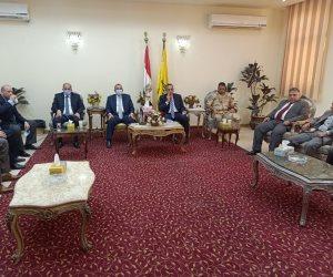 «شوشة»: سيناء عبرت نحو التنمية الشاملة بدعم الرئيس وجهود الجيش والشرطة (صور)