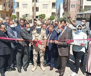"""سيناء على طريق التنمية.. """"شوشة"""" يفتتح المرحلة الأولى لتطوير العريش بـ5 ميادين رئيسية (صور)"""