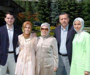 على رأسهم «أمينة».. تقارير دولية: بذخ وترف عائلة أردوغان يقتل الأتراك جوعا