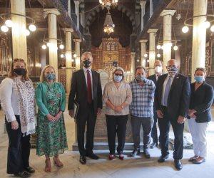 القائم بأعمال رئيس الوكالة الأمريكية للتنمية يزور مصر لدعم التزام بلاده بالحرية الدينية (صور)