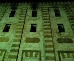 حريق الجامع الأزهر.. لا خسائر فى الأرواح وتأثر أرضية وسقف غرفة واحدة