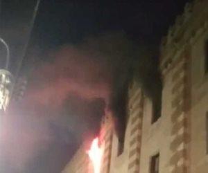 حريق الجامع الأزهر: تفاصيل جديدة.. والنيابة تجري المعاينة المبدئية