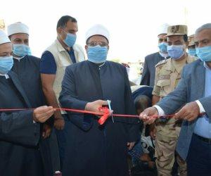 وزير الأوقاف يفتتح مسجد الشهيد منسي: سجل اسمه بحروف من نور (صور)