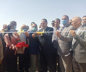 شمال سيناء تختتم احتفالات أكتوبر بافتتاح مشروعات بمجال مياه الشرب والتعليم والإسكان (صور)