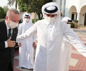 الخليفة العثماني يستعين بصديق.. أردوغان ينهب أموال تميم لإنقاذ الاقتصاد التركي المنهار