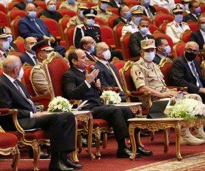 """الرئيس السيسى: """"والله لأحاجى الكل يوم القيامة على اللى إحنا بنعمله لبلدنا"""""""