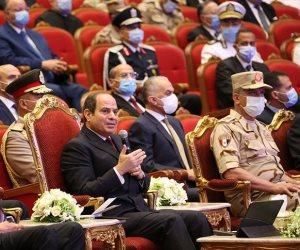 الرئيس السيسى: عدم الإنفاق لمواجهة مطالب الدولة يؤدى لتراكم التحديات