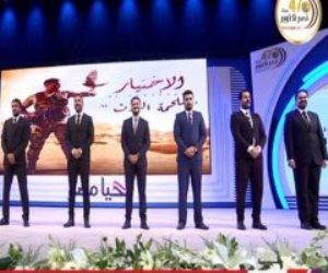 """""""الاختيار"""" يواصل حصد الألقاب.. الرئيس السيسى يكرم أبطال المسلسل والمتحدة للخدمات الإعلامية تكسب الرهان"""