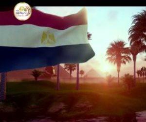 """السيسي يشاهد فيلما تسجيليا بعنوان """"حكاية علم"""" خلال الندوة التثقيفية"""