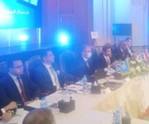 وفد البرلمان الليبى يشيد بالجهود المصرية لتجميع الأطراف الليبية