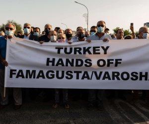 تركيا تواصل الاستفزاز بانتهاك القانون الدولي بعد إعادة فتح ساحل «فاروشا»