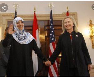 تسريبات هيلارى تكشف تعاونها مع «حرباء المنطقة العربية».. توكل كرمان زارتها قبل أحادث اليمن بأيام