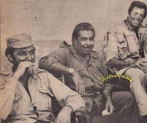 محمود ياسين.. صورة نادرة لبطل أفلام أكتوبر