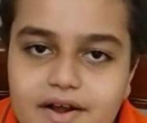 عبد الرحمن.. طفل يشارك فى تحدى إنجازات السيسي: استفدت من بنك المعرفة في الدراسة وقضى على فيروس سي (فيديو)