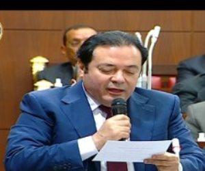 """النائب محمد المرشدي يؤدى اليمين الدستورية خلال الجلسة الافتتاحية لـ""""الشيوخ"""""""