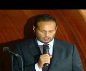 النائب محمد حلاوة يؤدى اليمين الدستورية بالجلسة الافتتاحية لمجلس الشيوخ