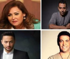 نجوم الفن يشيدون بتطوير التليفزيون المصري: ارتدى حلته الجديدة