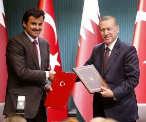 تقرير أمريكي يكشف: قطر تمول مشروع أردوغان الإخواني لزعزعة استقرار المنطقة
