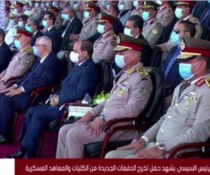 السيسي محذرا من الحروب الحديثة: هدفها إزاى تحرك الشعوب لإيذاء بلادهم