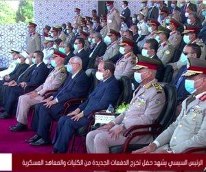 السيسي: قوة الجبش عظيمة إن شاء الله وقادرة على حماية أرض مصر