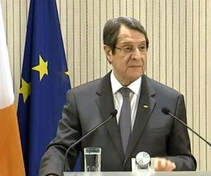 رئيس قبرص: العلاقات الثلاثية مع مصر واليونان ليست موجهة ضد أى دولة