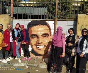 """محافظ الدقهلية.. الشباب يتركون بصمة على جدران الشوارع بالمنصورة """"صور"""""""