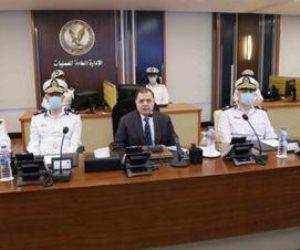 وزير الداخلية يتابع إجراءات تأمين انتخابات النواب من داخل غرفة عمليات قطاع الأمن (صور)