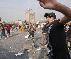 العراق يشهد مواجهات عنيفة بين الأمن والمتظاهرين في ساحة التحرير
