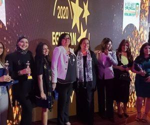 فوز هبة السويدي بجائزة قلادة المرأة المصرية لدورها الريادي في معالجة القضايا المجتمعية