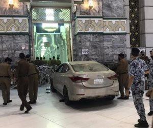إمارة مكة المكرمة تكشف تفاصيل حادث ارتطام سيارة في أحد أبواب المسجد الحرام
